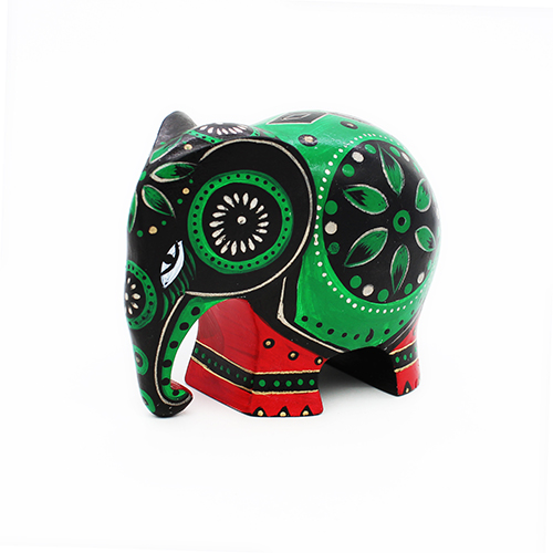 Emerald Green Elephant