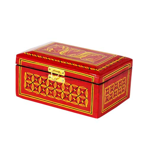 Lacquer Jewllery Box - Small