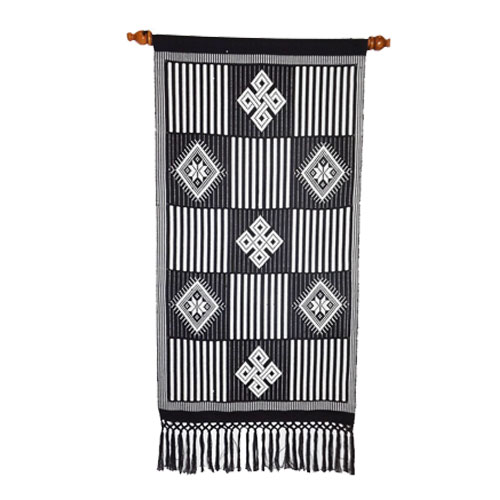 Embroidery and handloom table clothes bed sheets amp wall hangings