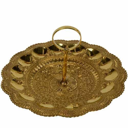 Brass Cake Tray