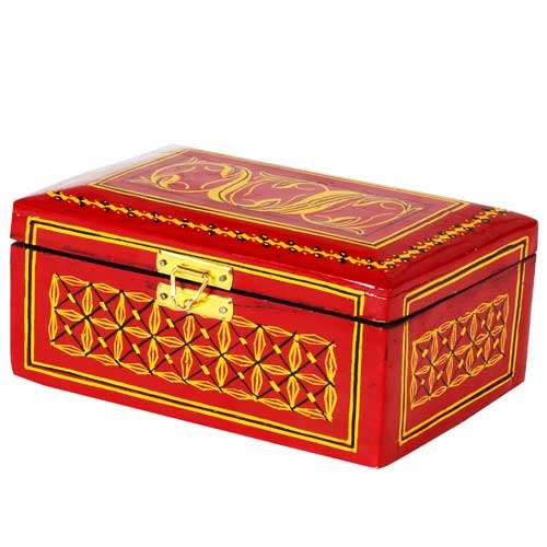 Lacquer Jewllery Box - Large