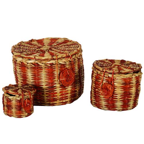 Bamboo Basket - L
