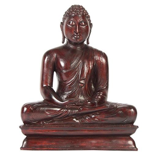 Mahogany Buddha Statue