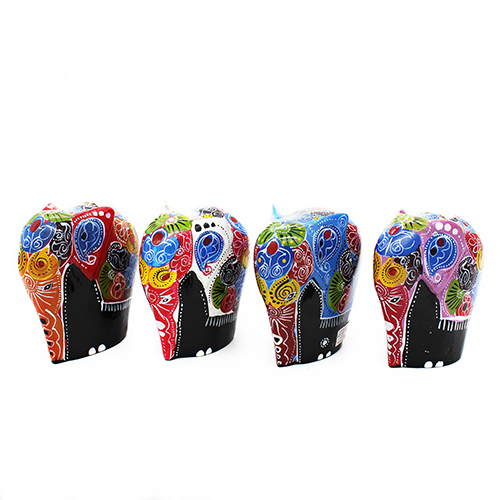 Decorated Elephant - Medium