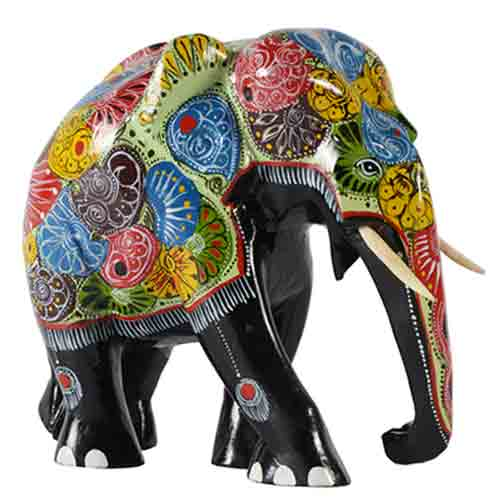 Painted Elephant - Large
