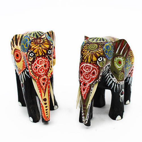 Colorful Tribal Elephant