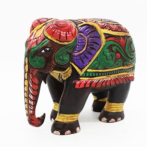 Saatchi Art Artist Kovacs Anna Brigitta Painting Cute Colorful Elephant Art