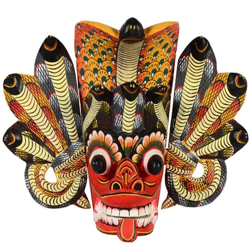 Mat Finish Mask - Naga Raksha