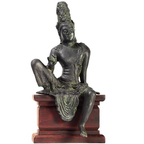 Brass Avalokiteshvara Bodhisathwa Statue