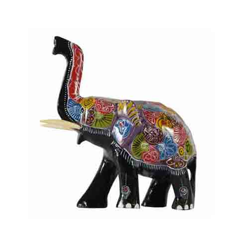 Painted Elephant T/up - Small