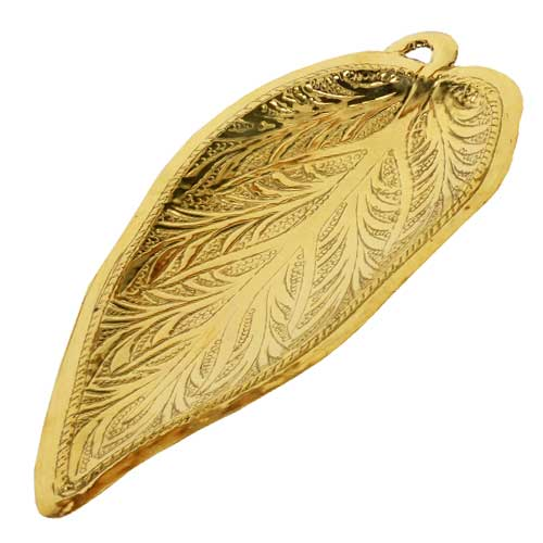 Brass Betel Leaf Tray - Large